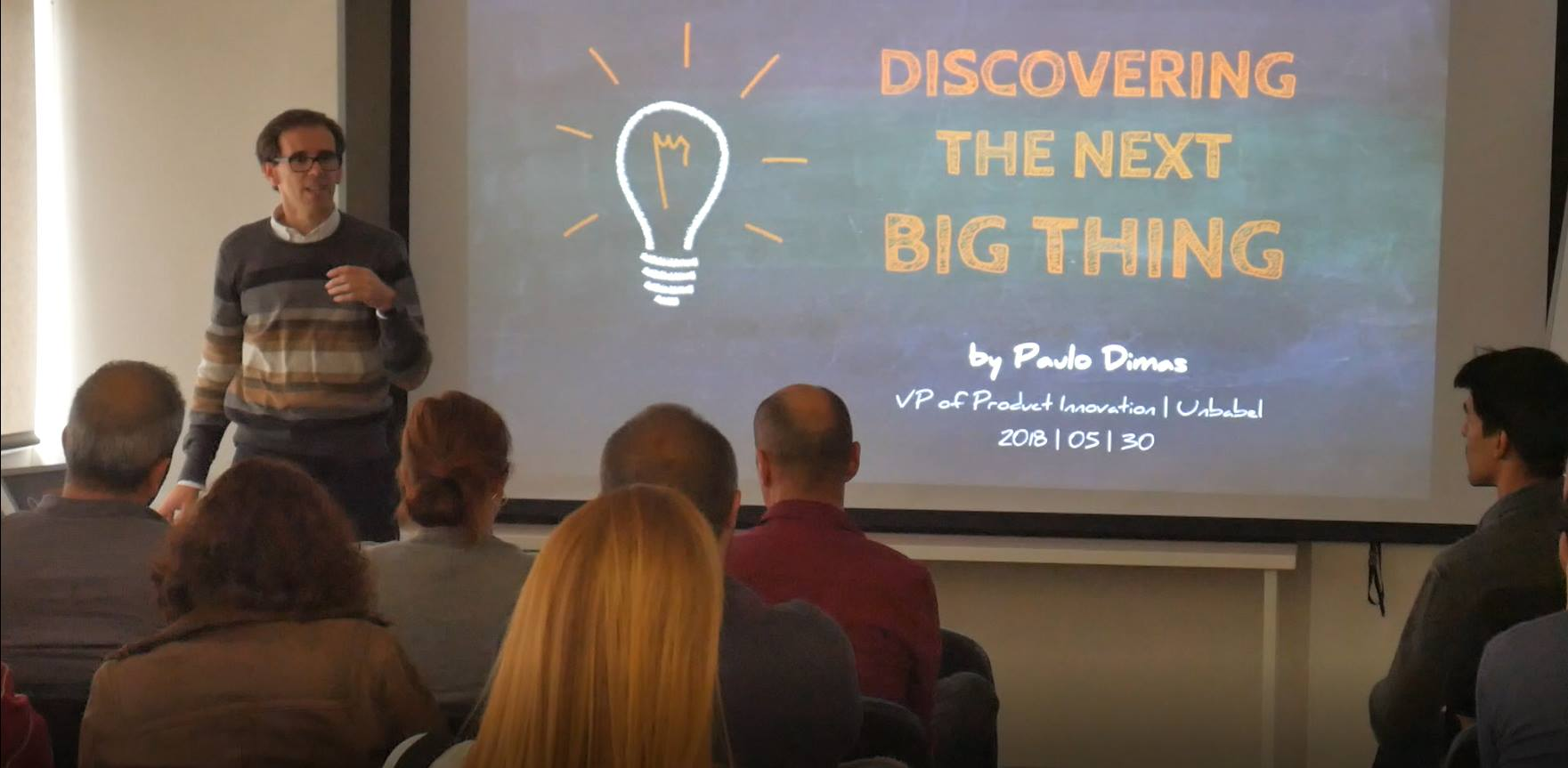 Unbabel head of product innovation Paulo Dimas, customer service technology