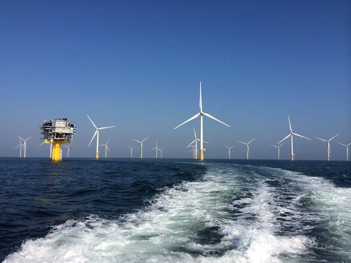 French offshore wind farms