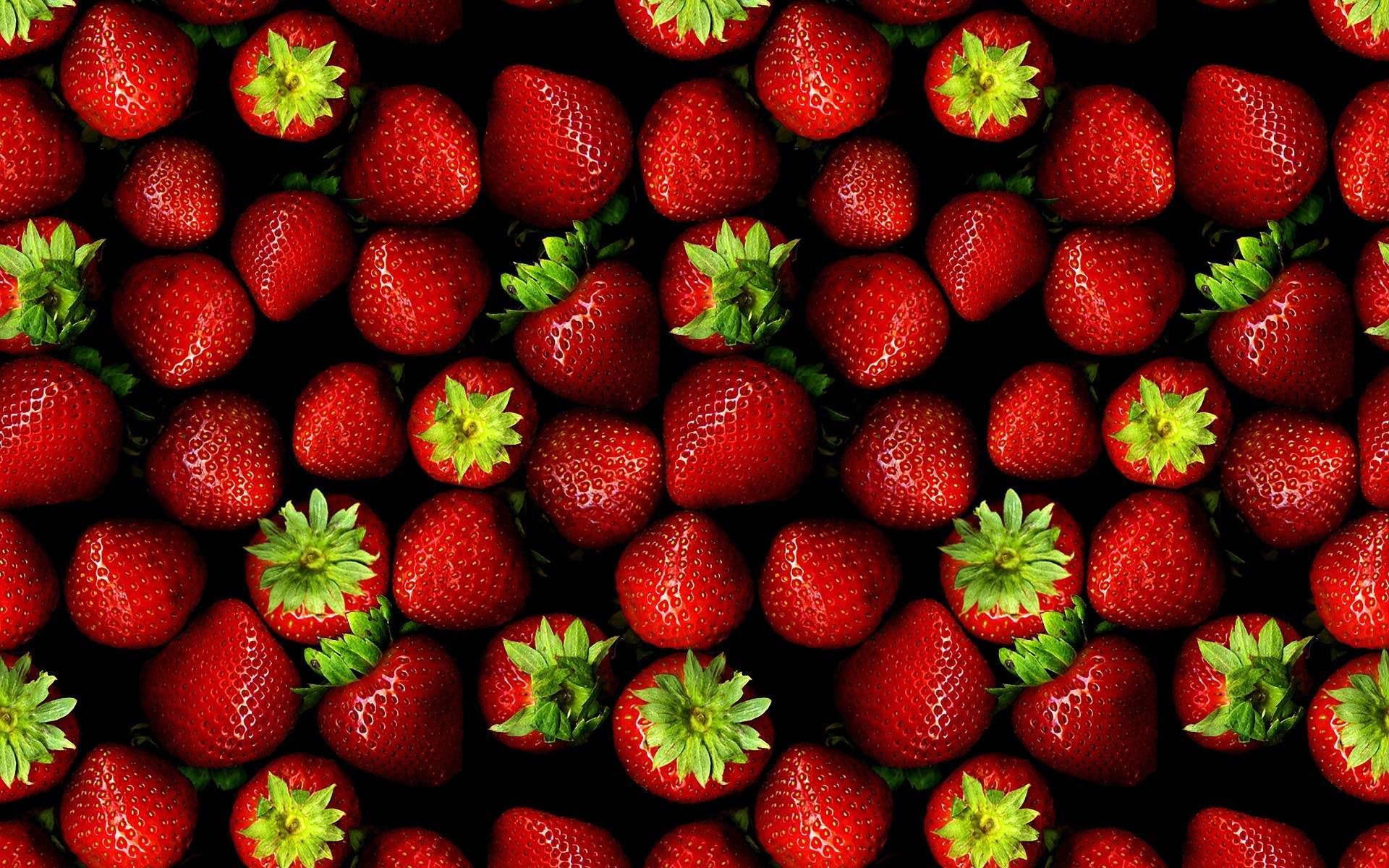 Strawberries packaging design