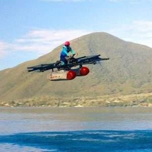 Larry Page flying jetski - Compelo