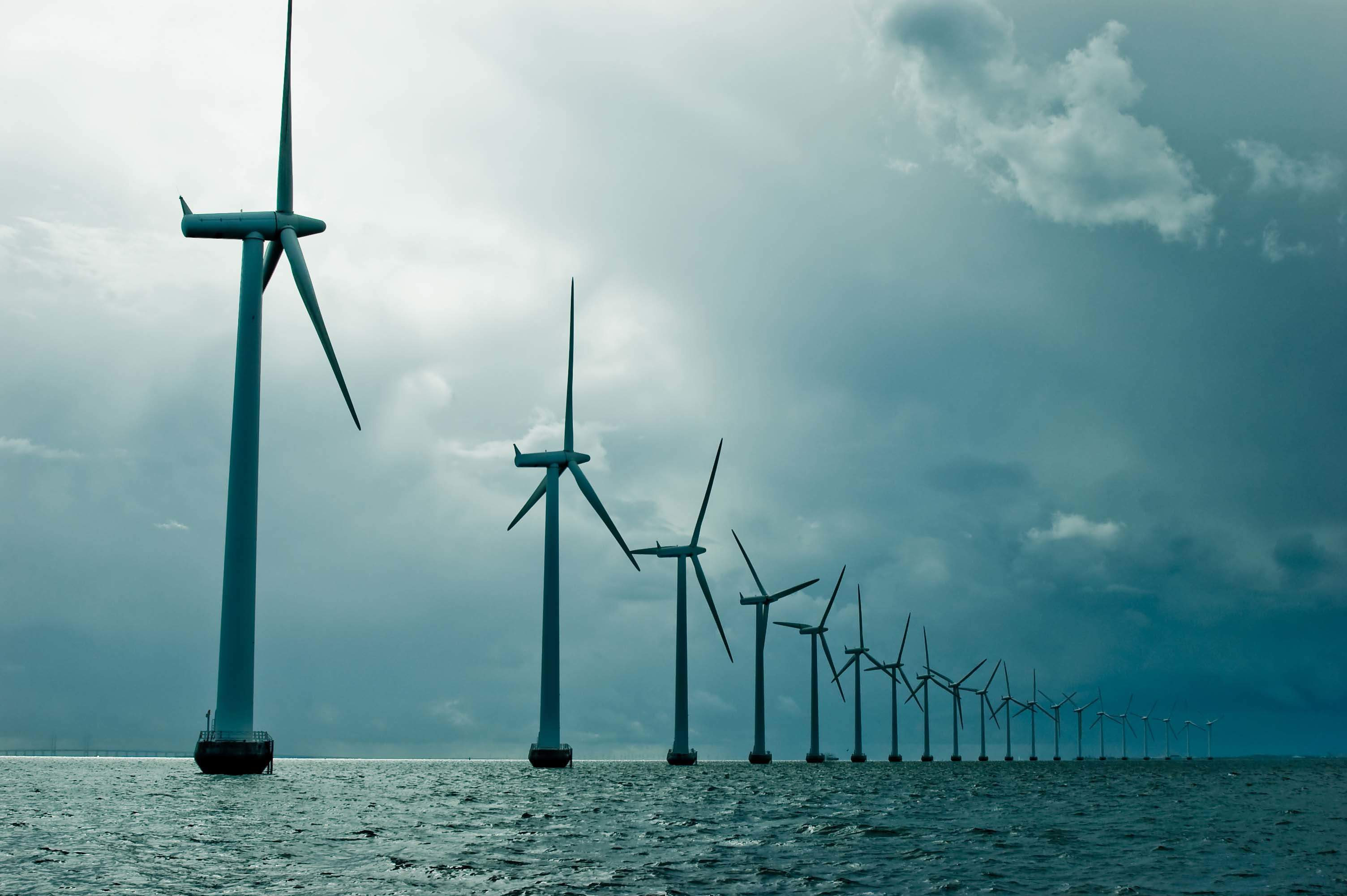 Wind farm, green economy, clean energy tariffs
