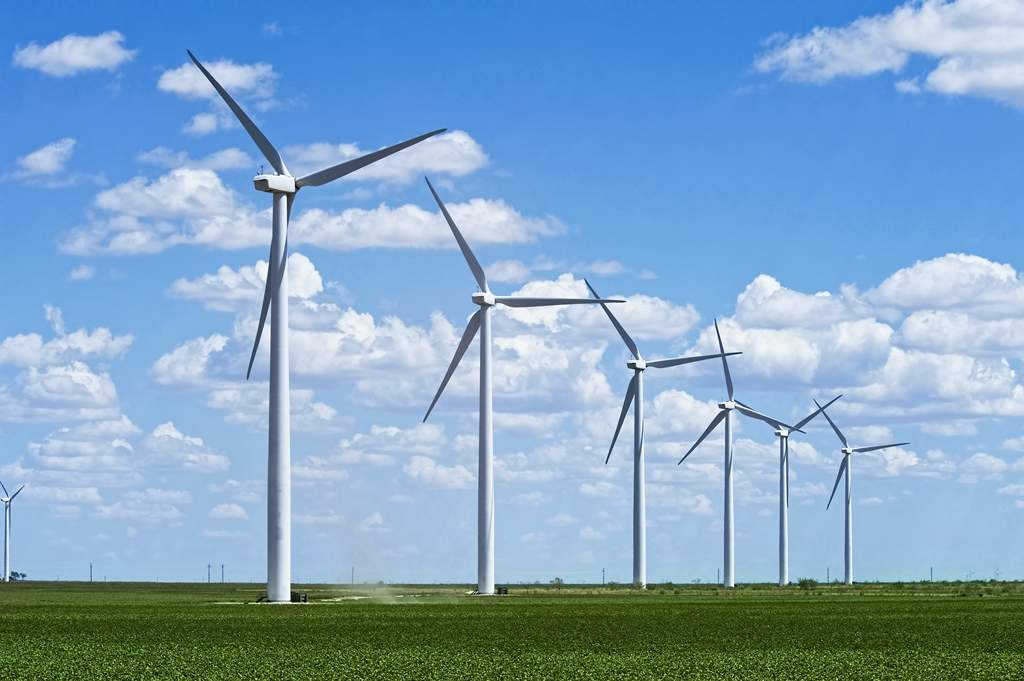 Amazon Wind Farm Texas - Compelo
