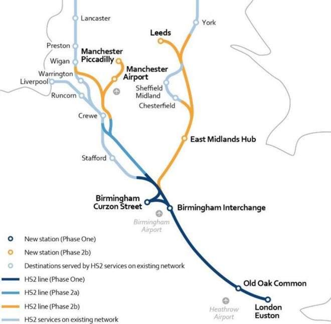 HS2, high-speed rail