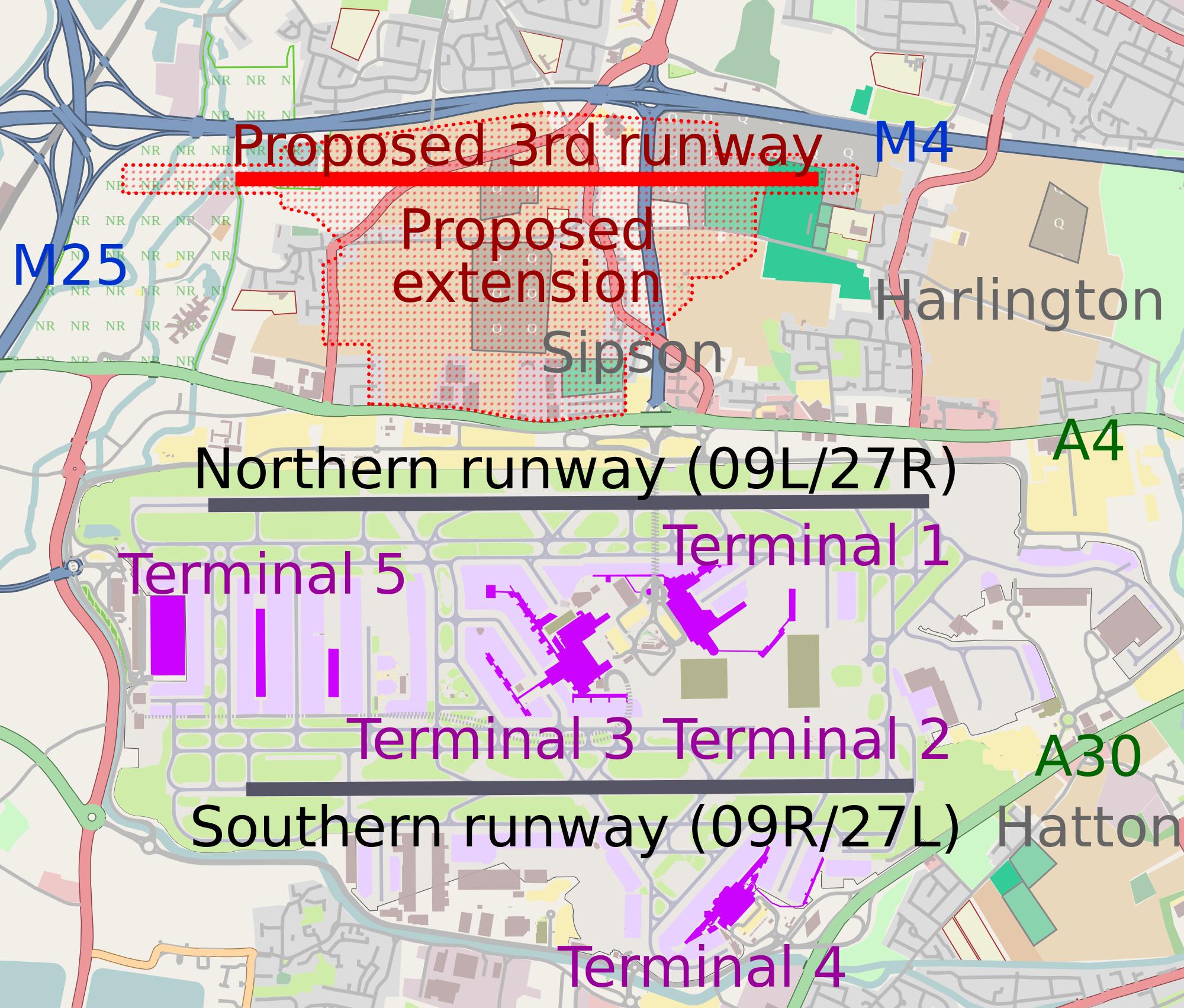 Heathrow, Airport, UK
