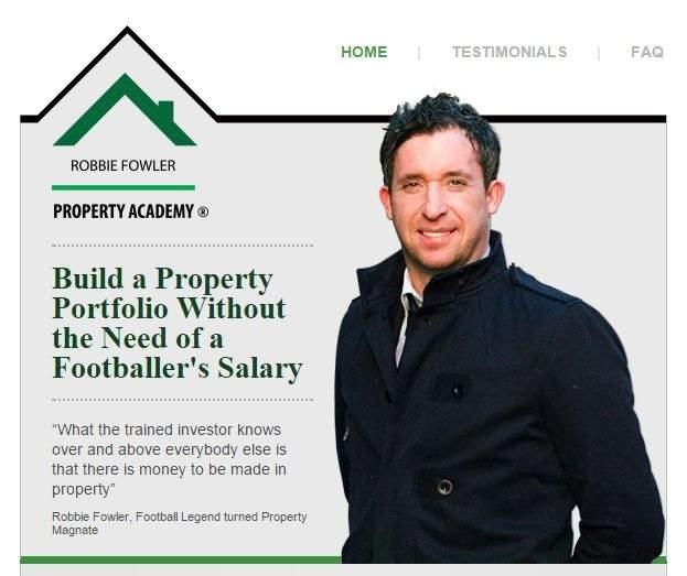 Robbie Fowler Property Academy