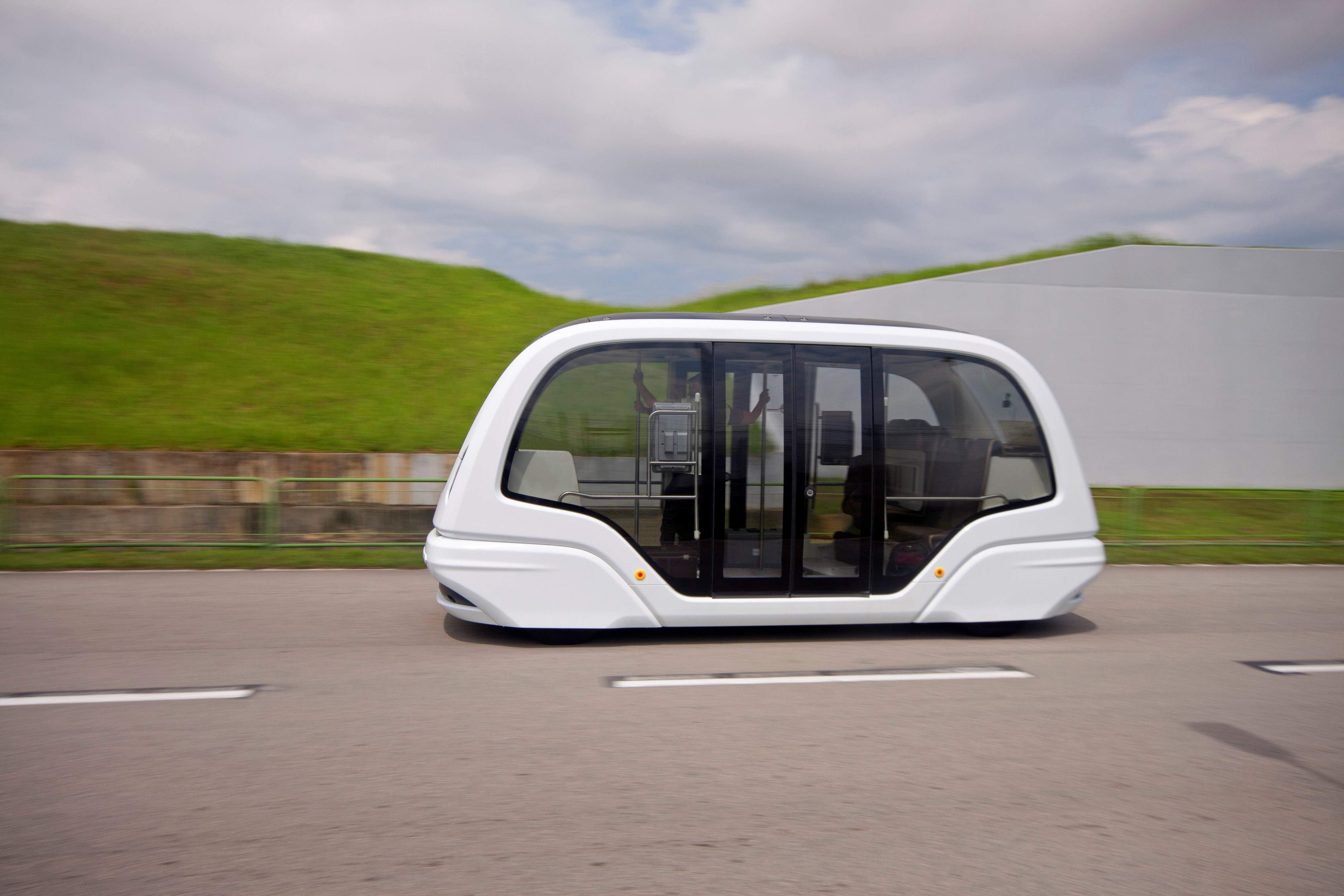 Self-driving car. driverless car, autonomous vehicle