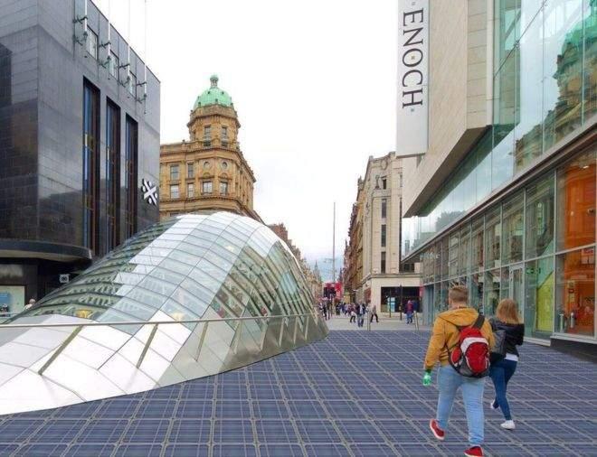 Solar pavement, Qatar 2022 World Cup