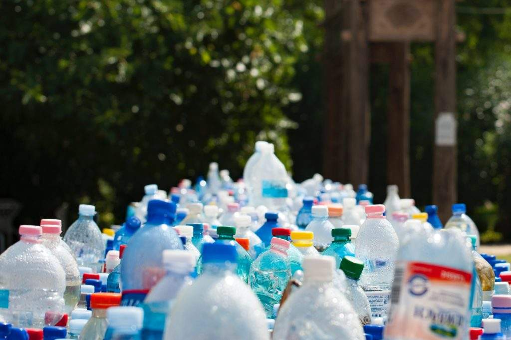 Plastic bottles, single-use plastics, plastic packaging waste