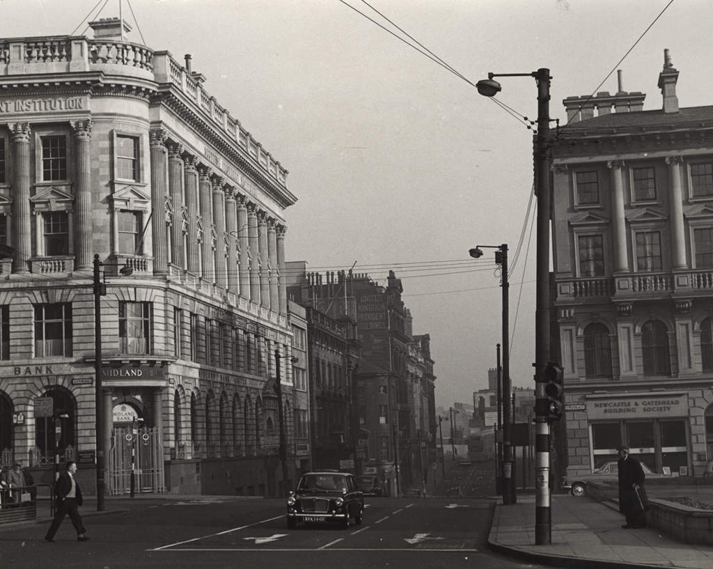 Mosley Street, Newcastle in 1964