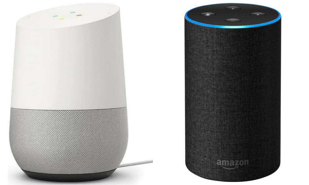 Voice search, Google Home, Amazon Echo