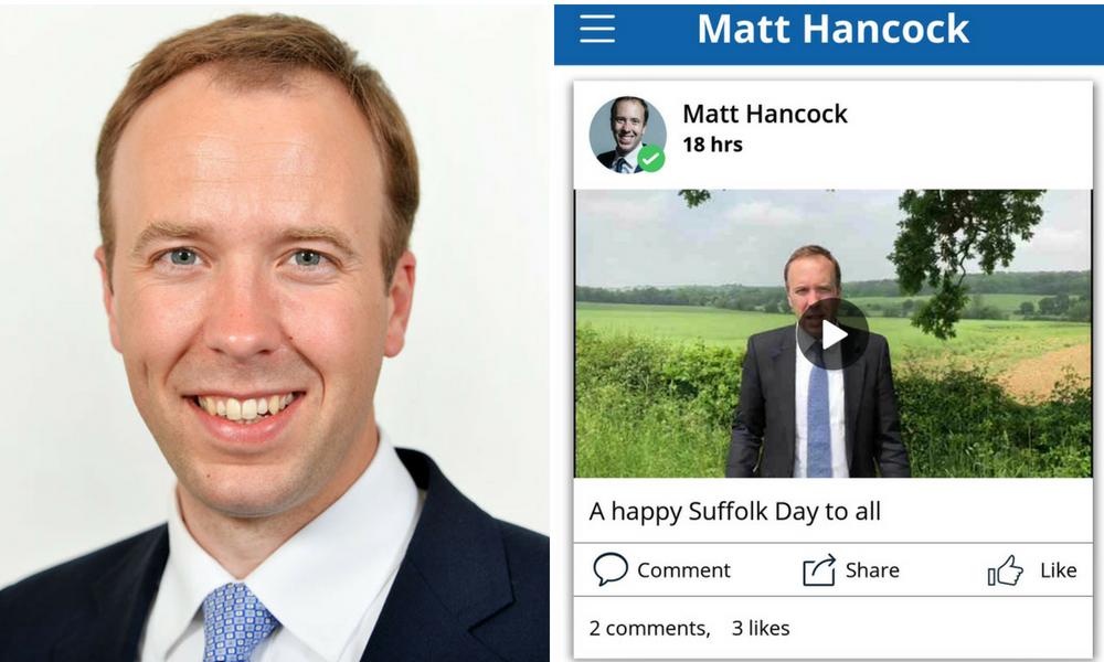 Matt Hancock App