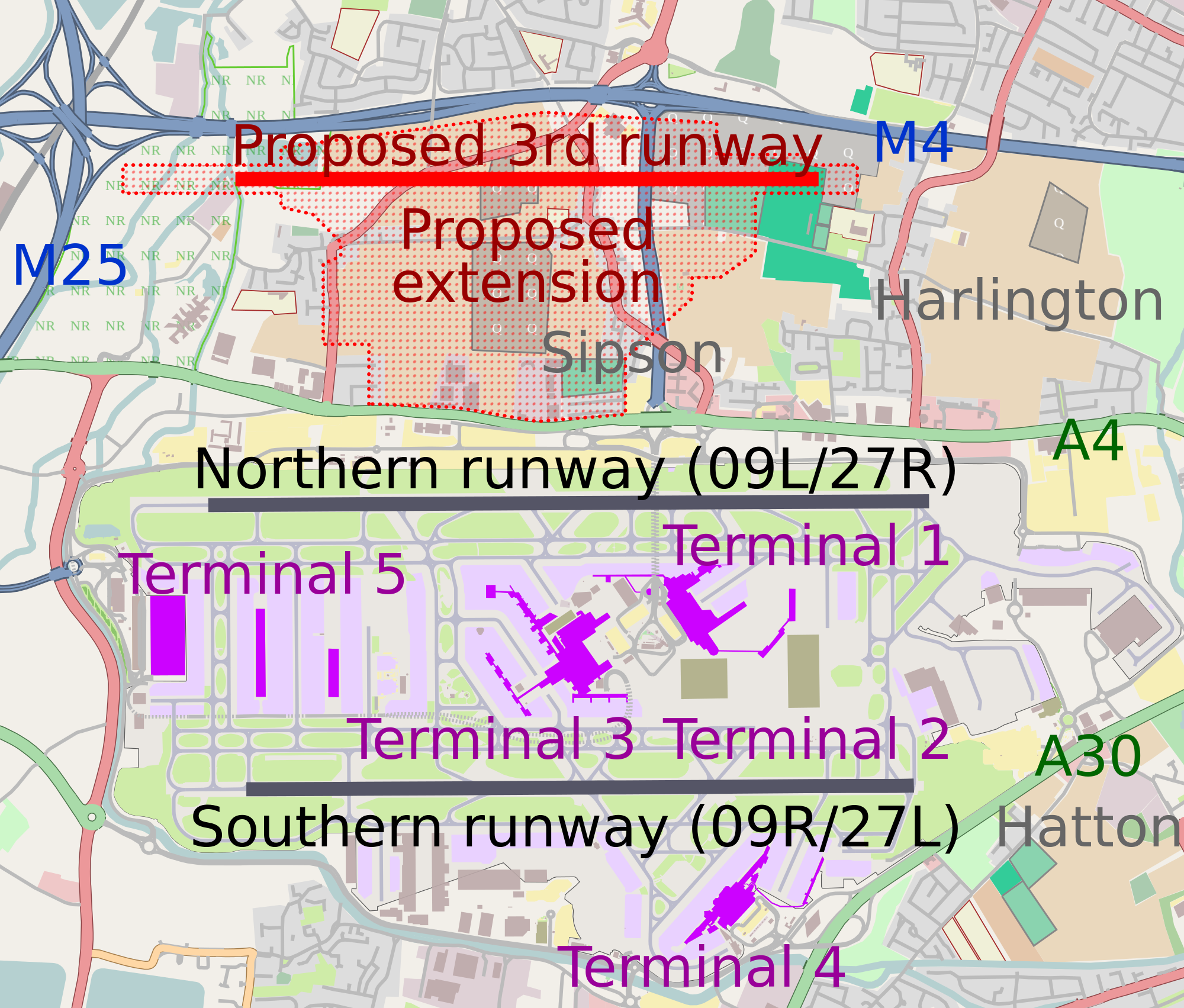 Heathrow third runway update