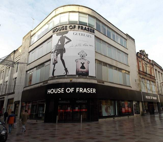 House of Fraser, retailers