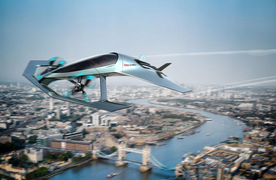 Aston Martin, Volante Vision Concept, Farnborough Airshow