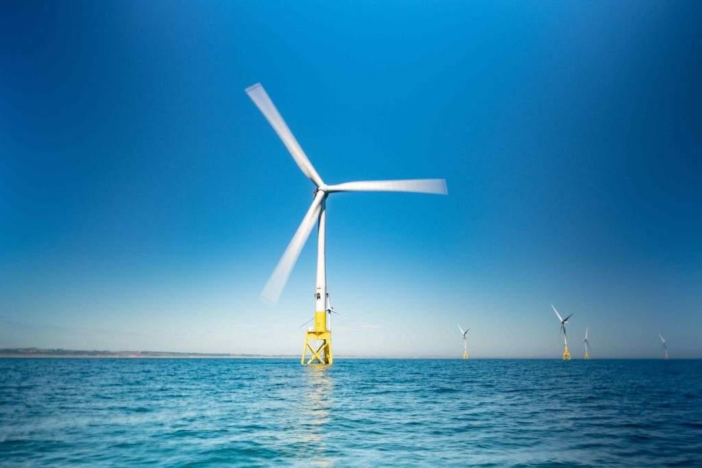 Offshore wind farm, clean energy tech