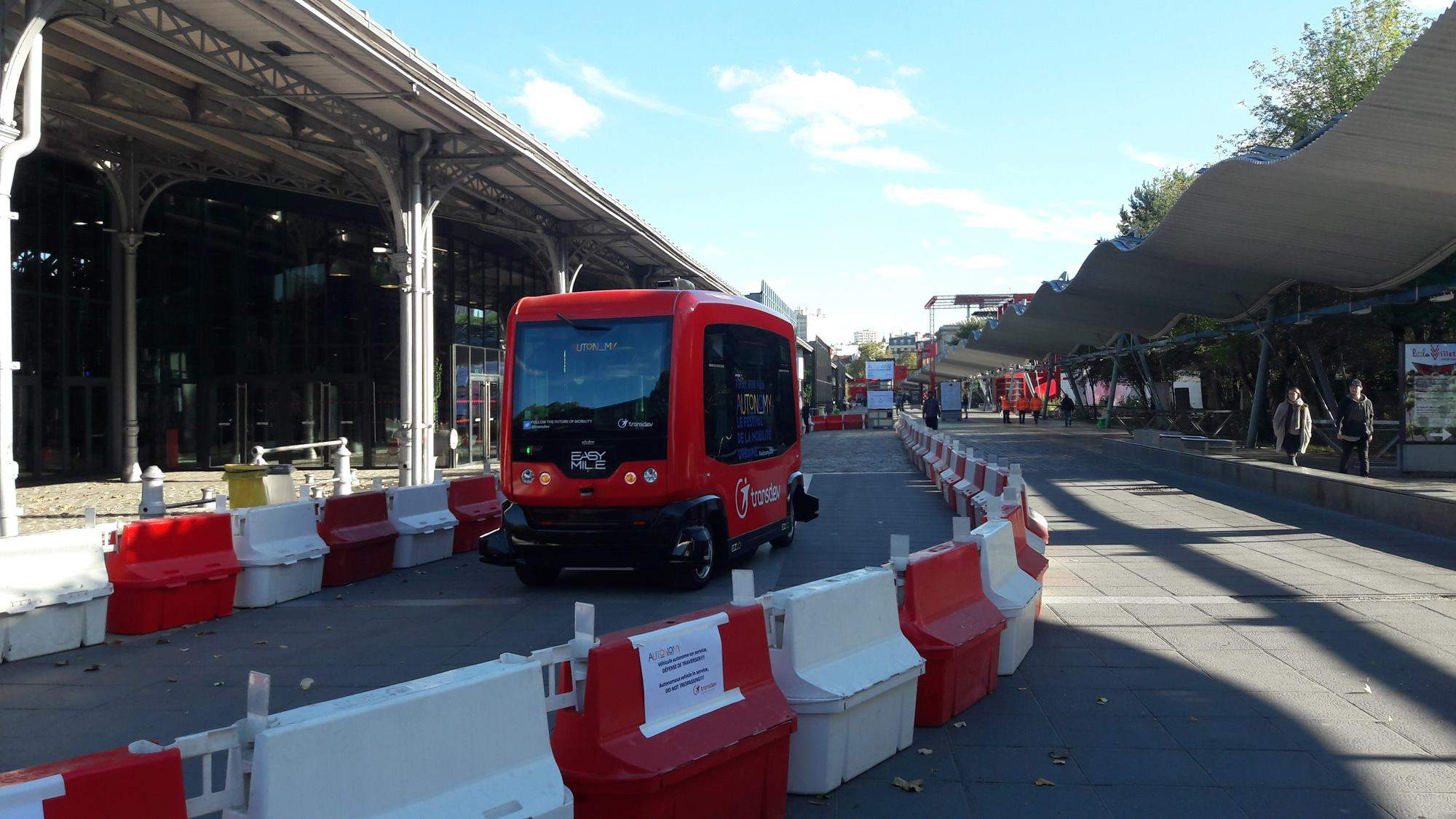 Driverless car, self-driving cars, EasyMile
