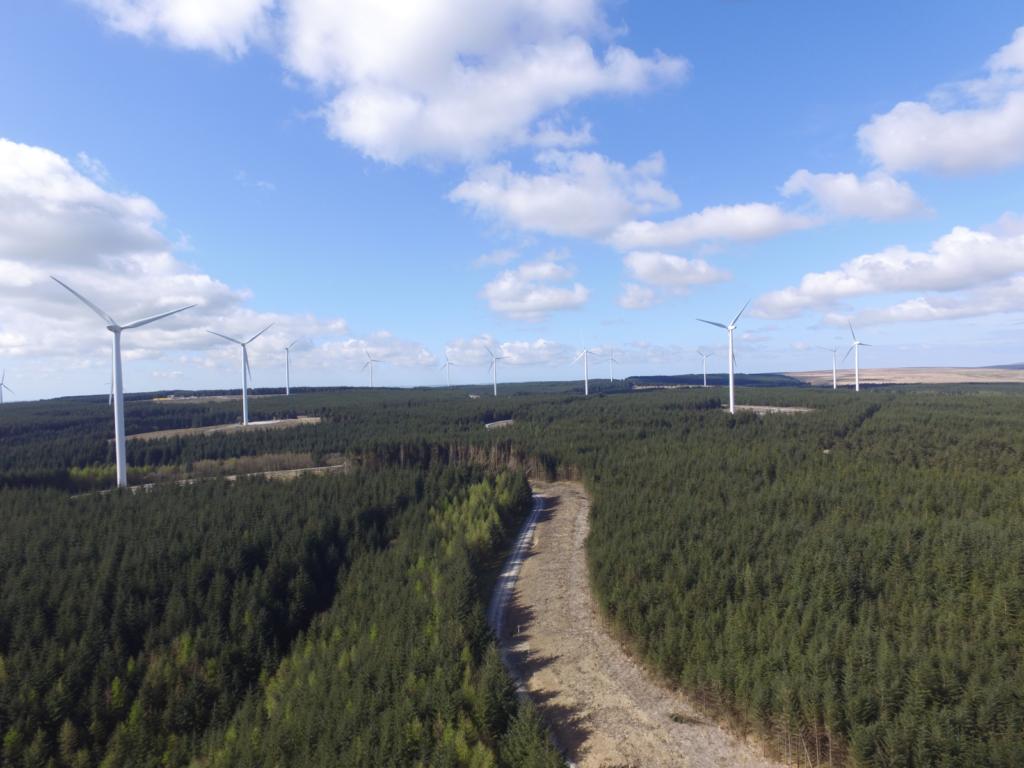 Brechfa Forest West wind farm