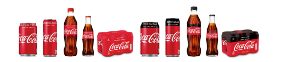 Coca-Cola's new packaging
