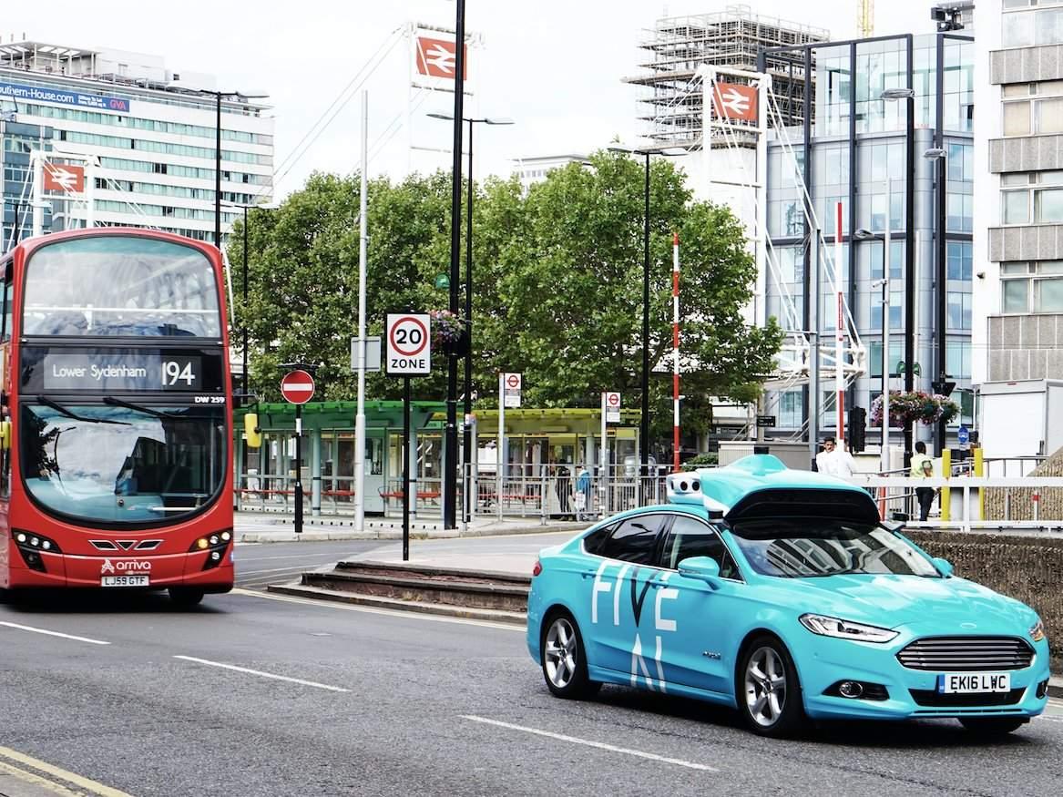 Driverless car-sharing, FiveAI