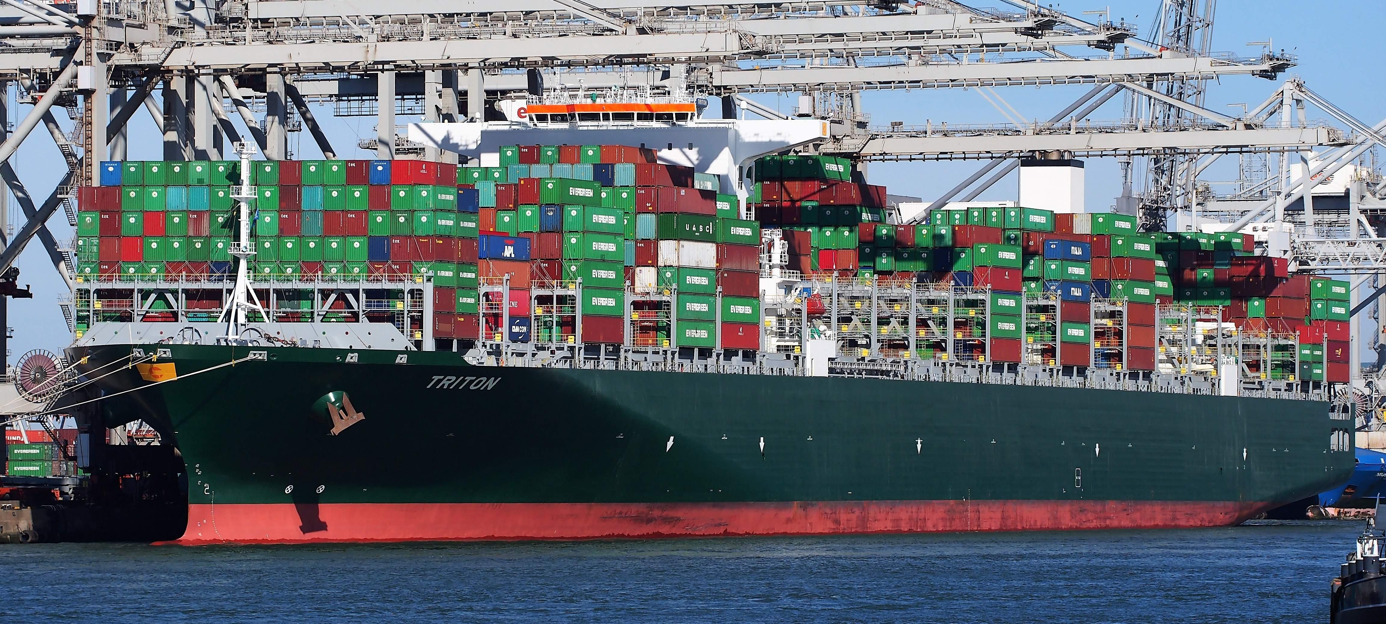 Port of Rotterdam, shipping, logistics