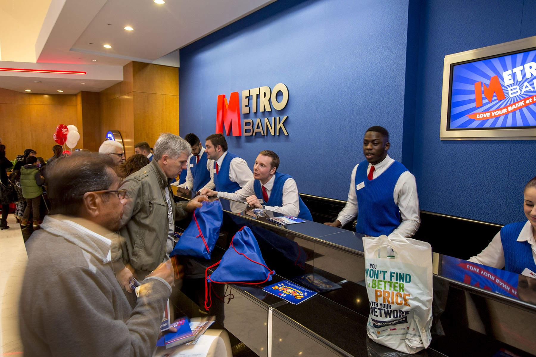 Metro Bank, rise in disruptor banks