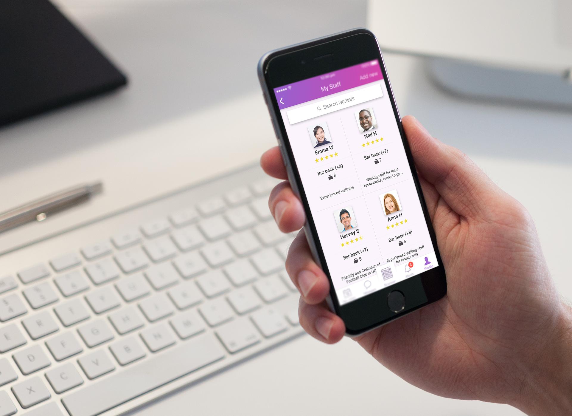 Temporary work, employment, recruitment, Syft, recruitment apps