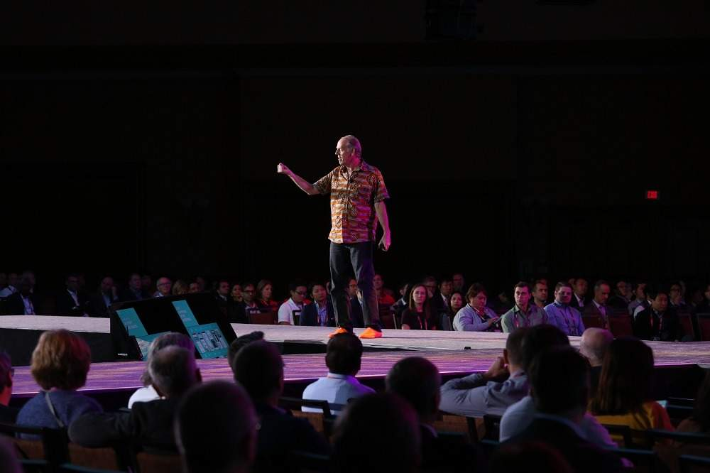 Teradata CTO Stephen Brobst speaks at Teradata Analytics Universe 2018