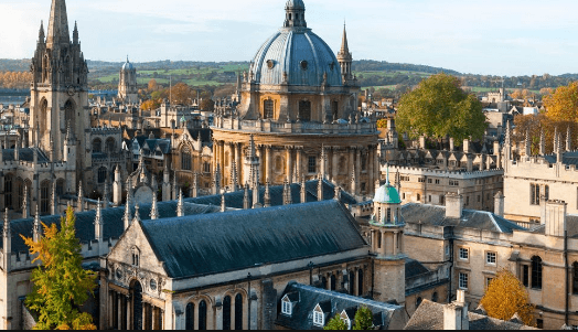 Oxford University, where one of its unicorn companies, Oxford Nanopore was founded.