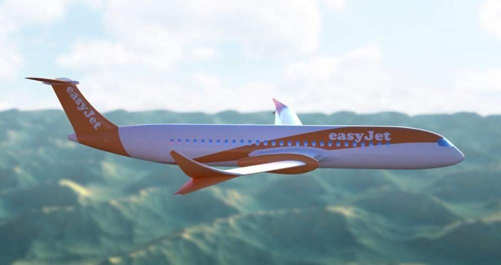 electric planes, EasyJet electric plane, companies making electric planes