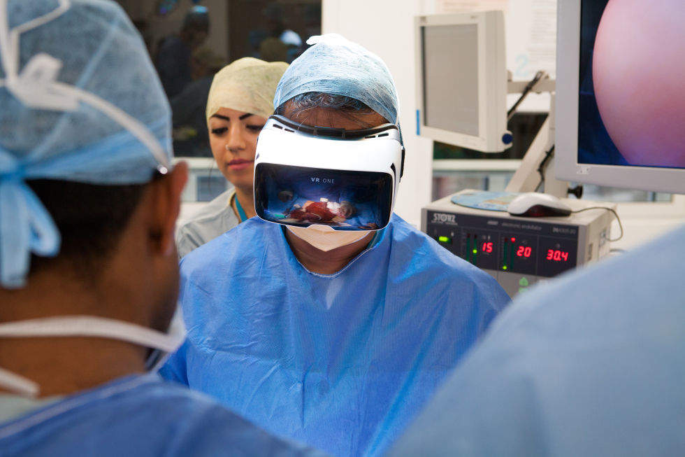 Medical Realities, AR and VR in healthcare