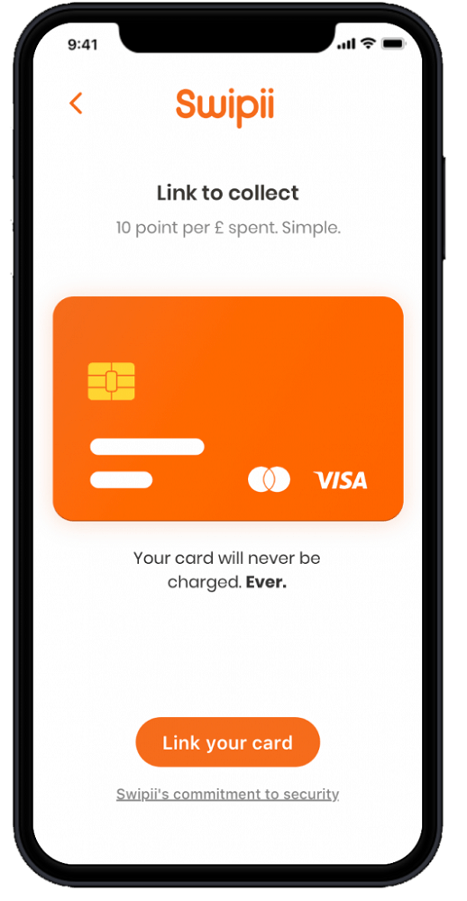 Swipii, customer loyalty programme for small businesses