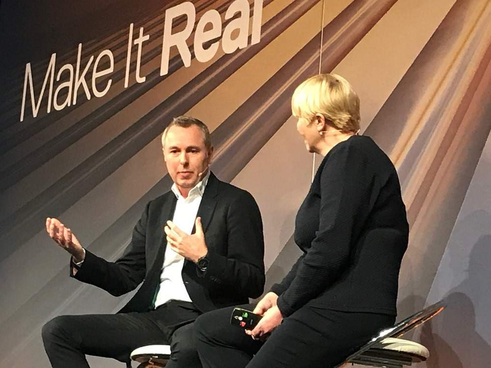 John Allert chief marketing officer for McLaren discusses how to beat the challenge from digital disruptors