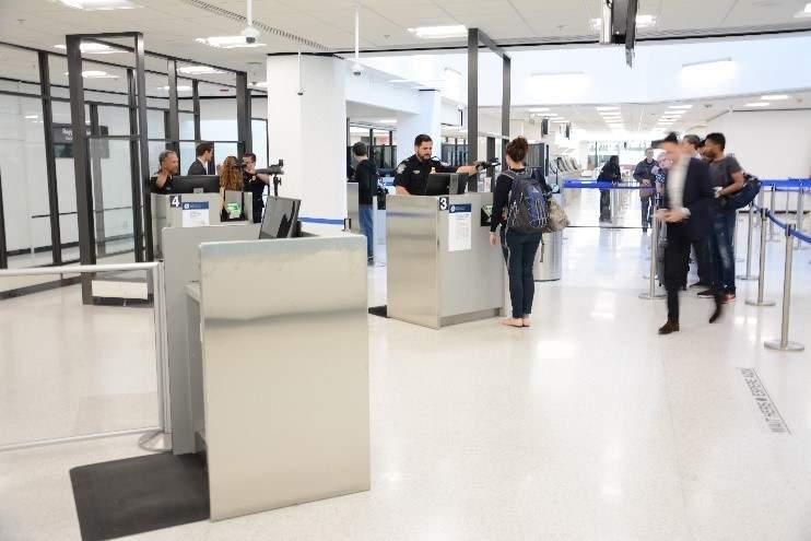biometric passport screening