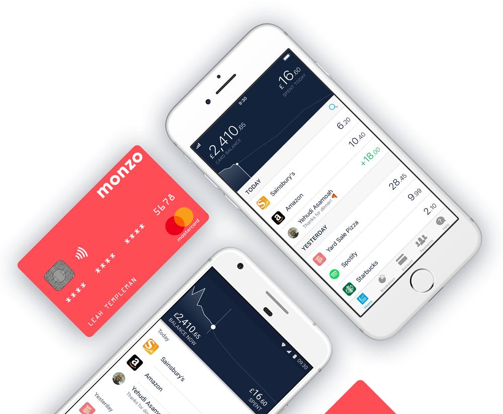 Monzo, digital banks UK