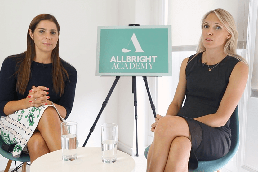 Allbright co-founders Debbie Wosskow and Anna Jones launch AllBright Academy for mentoring women entrepreneurs (Credit: AllBright)