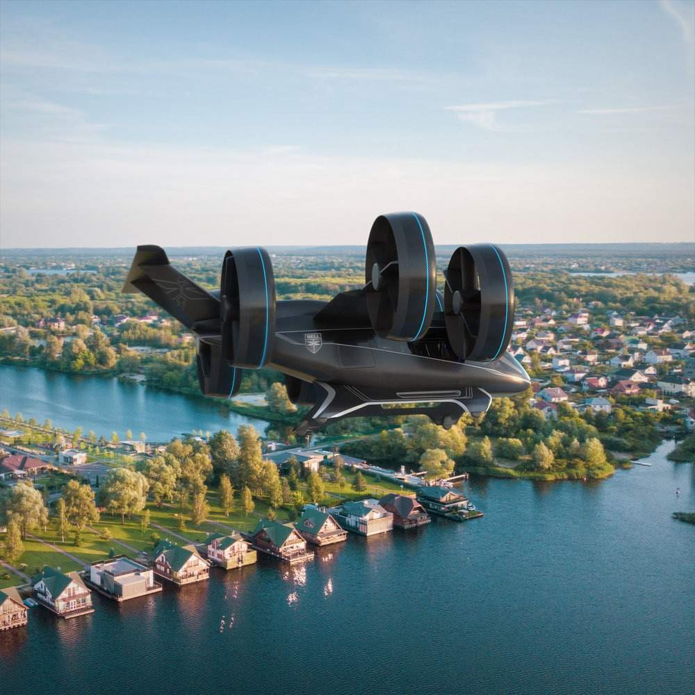 Flying cars, Bell Nexus