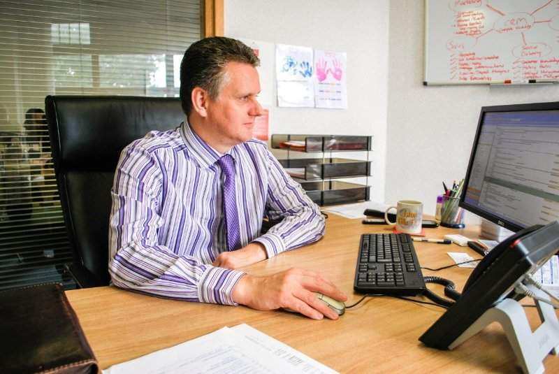 Darren Hockley, MD of eLearning company DeltaNet International