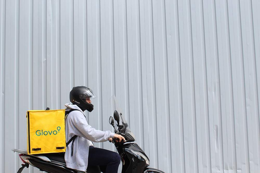 Customers can order anything from the Glovo app and have it arrive in 35 minutes (Credit: Glovo)