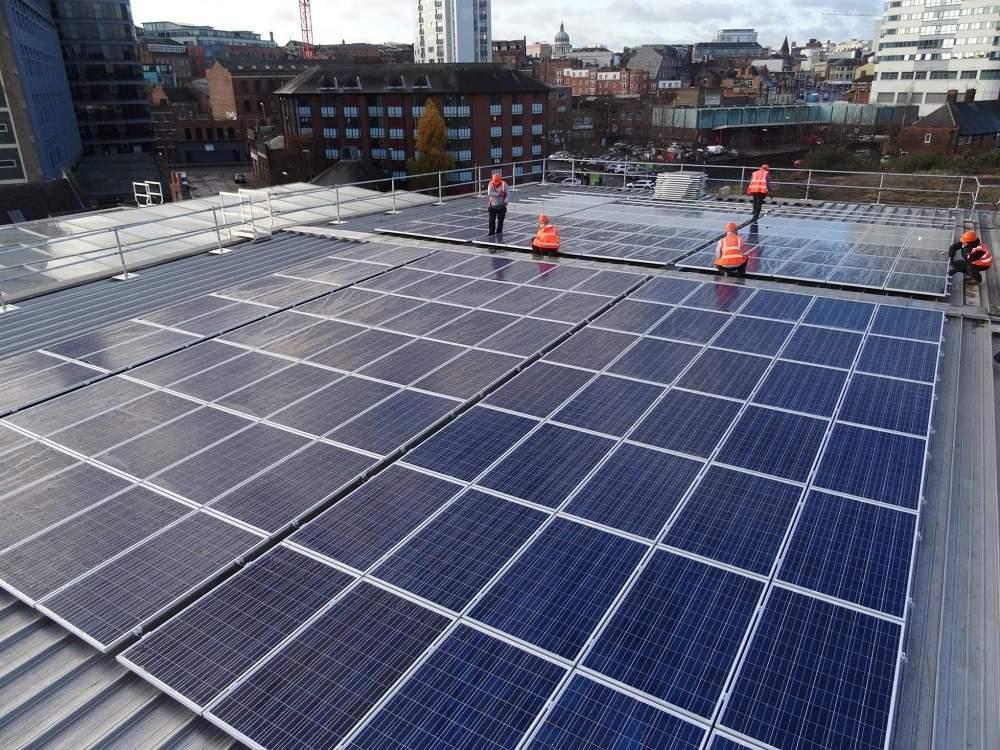 Nottingham carbon-neutral, carbon-neutral city