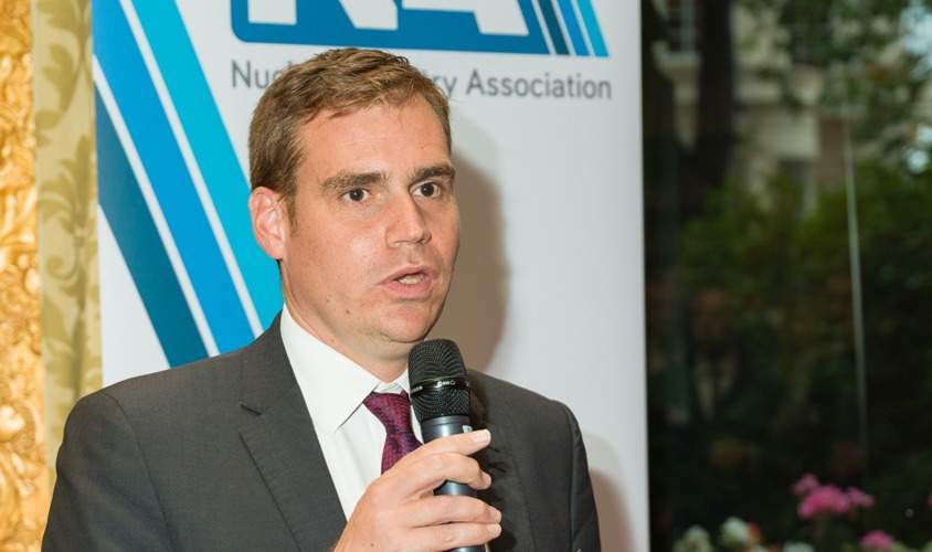 Nuclear Industry Association CEO Tom Greatrex