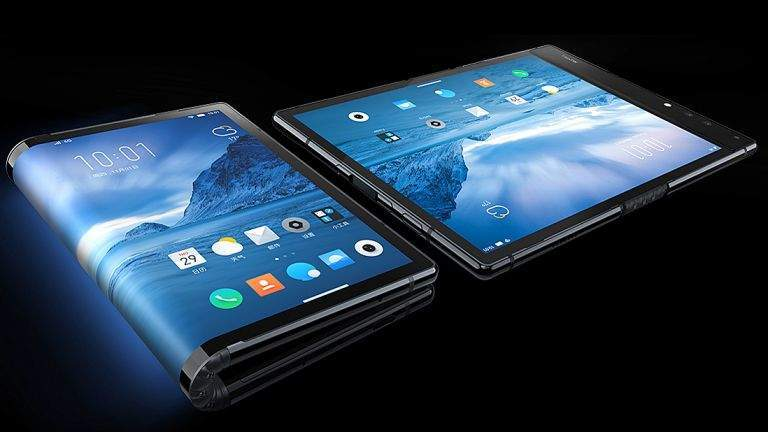 Samsung folding smartphone, consumer technology