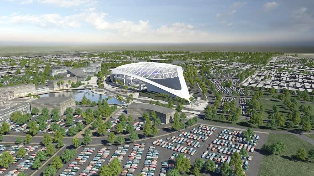 New LA Rams stadium