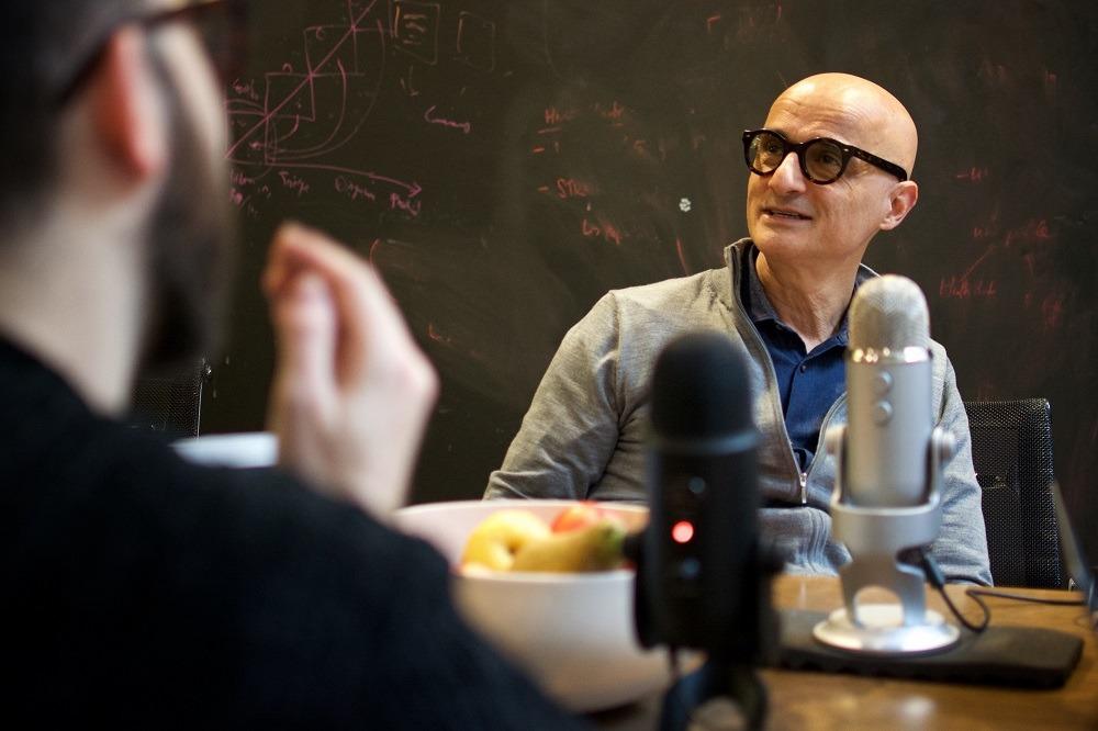 Dr Ali Parsa, founder of Babylon, appearing on the Secret Leaders podcast