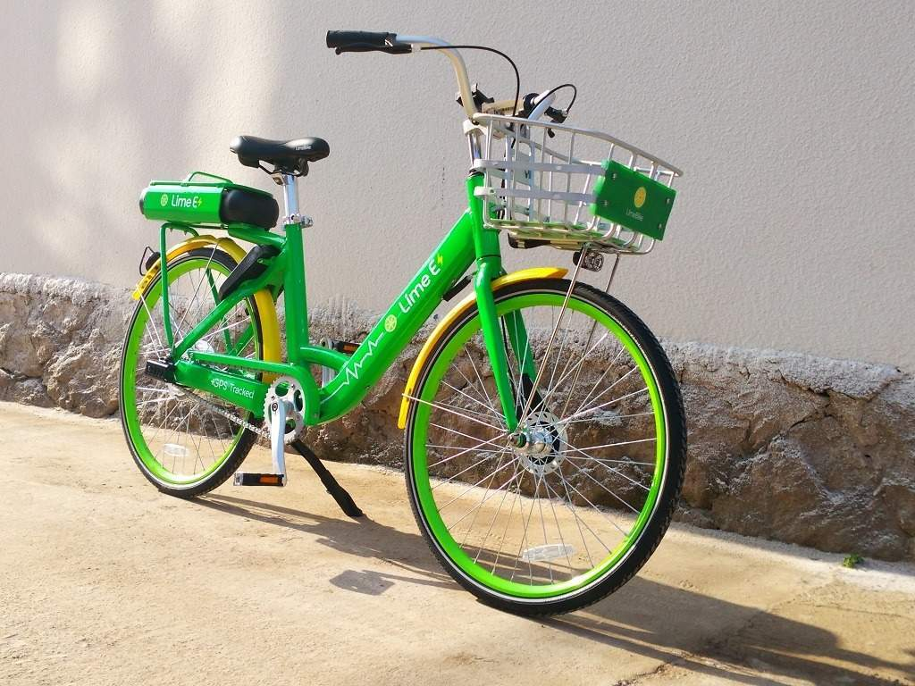 what is lime, lime e-bikes london