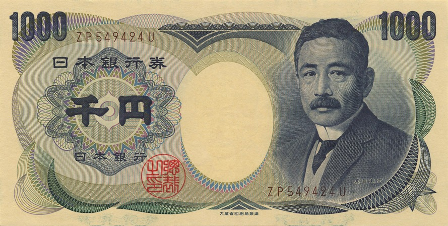Japanese yen, major currencies of the world