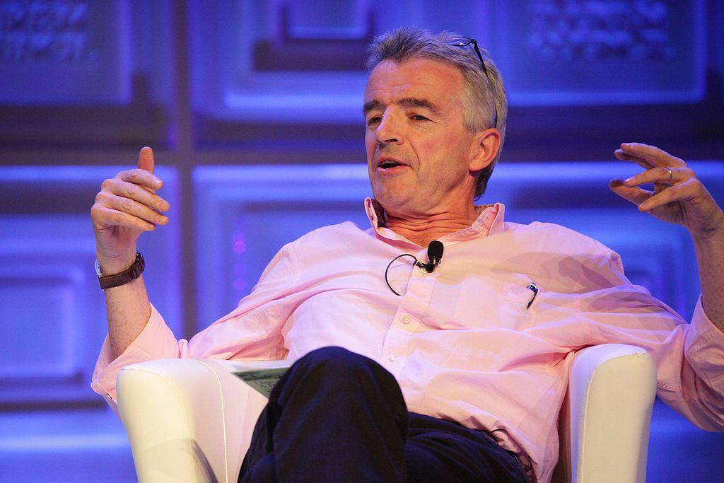 Michael O'Leary, irish business leaders