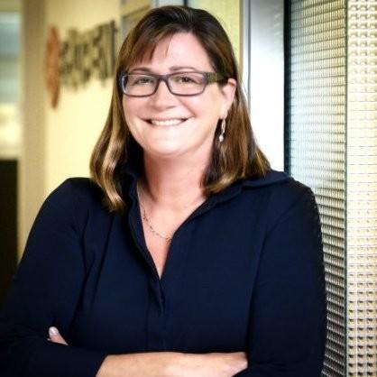 female tech leaders, Prezi chief marketing officer Nadjya Ghausi