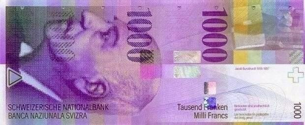 major currencies of the world, Swiss franc