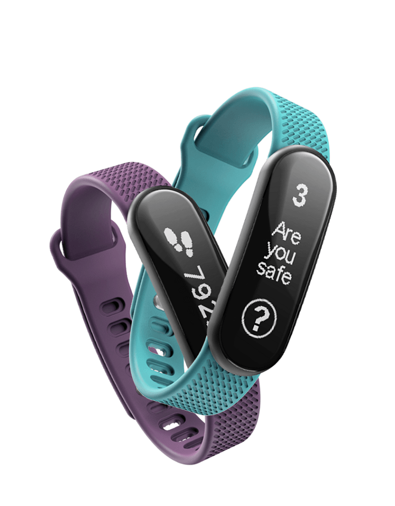 Tended has created a new wearable that notifies friends and families of your whereabouts in an emergency Credit: Tended)