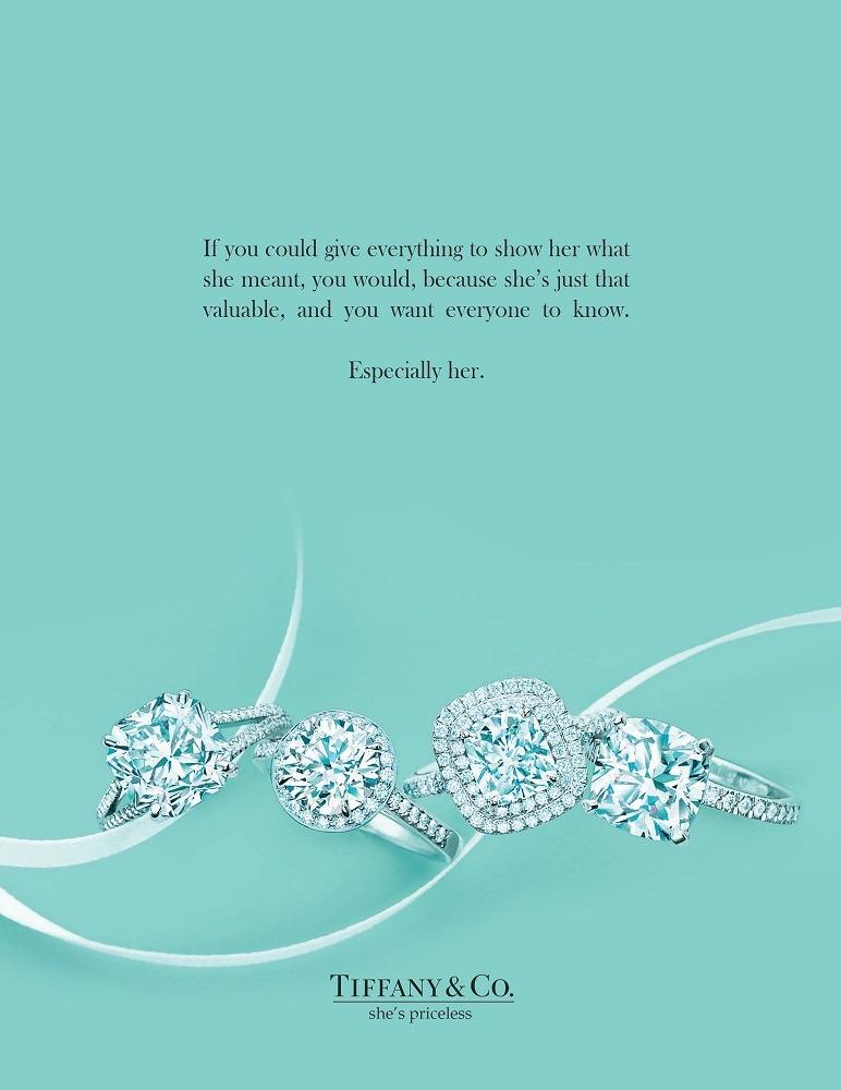 Tiffany & Co advert, Matthew Luhn